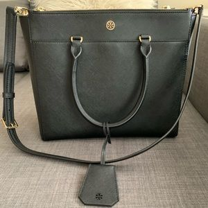 Tory Burch Robinson Double Zip Tote Large